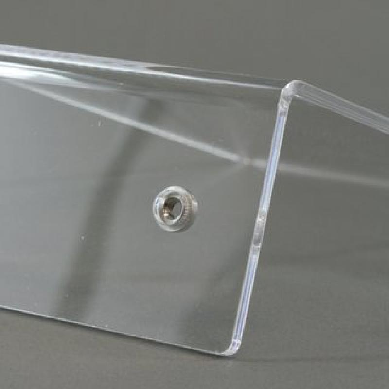 Add-on studs acrylic glass