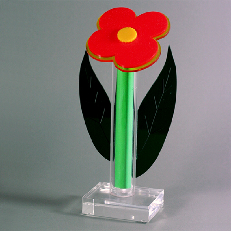 "Acrylic glass ""flower"""