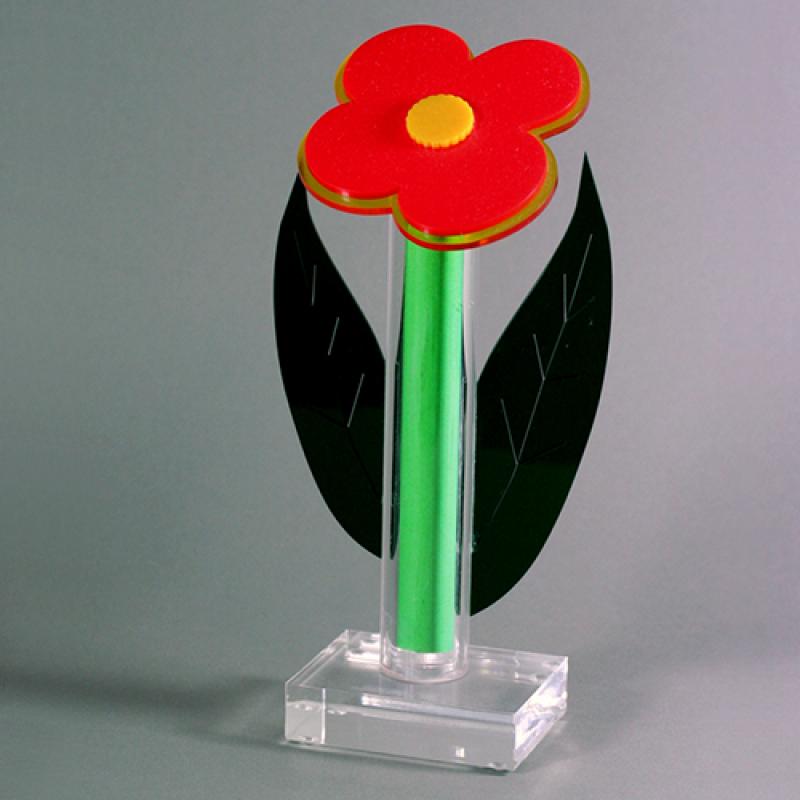 Acrylglas-Blume