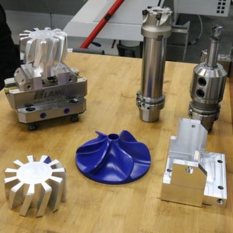 5-axis milling samples