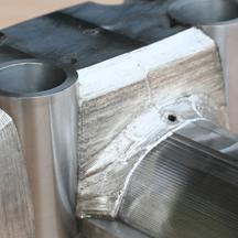 Laser welding tool steel 2