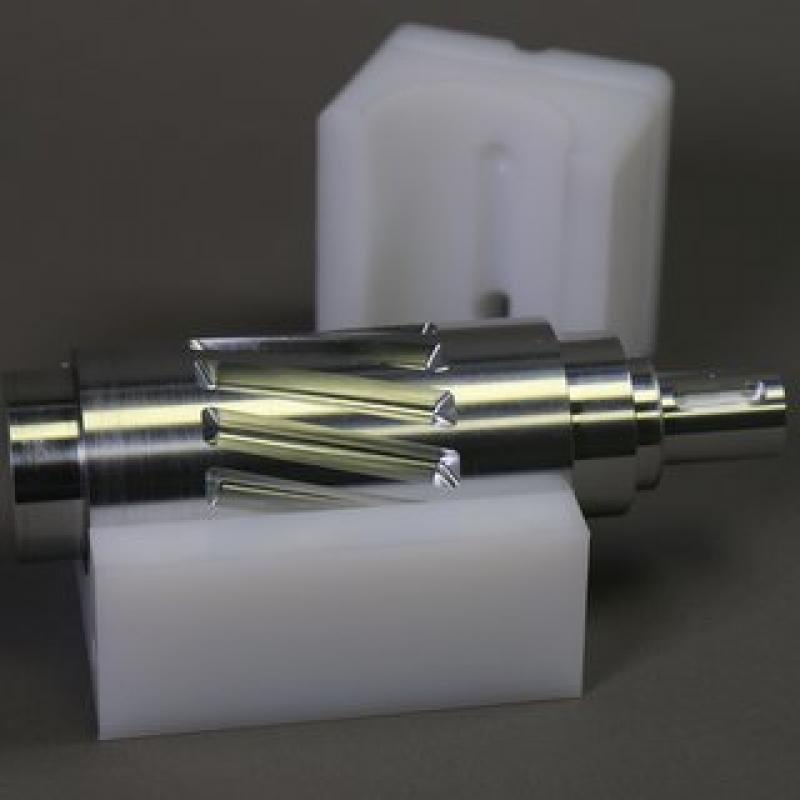 5-a-axis milling aluminium+PE