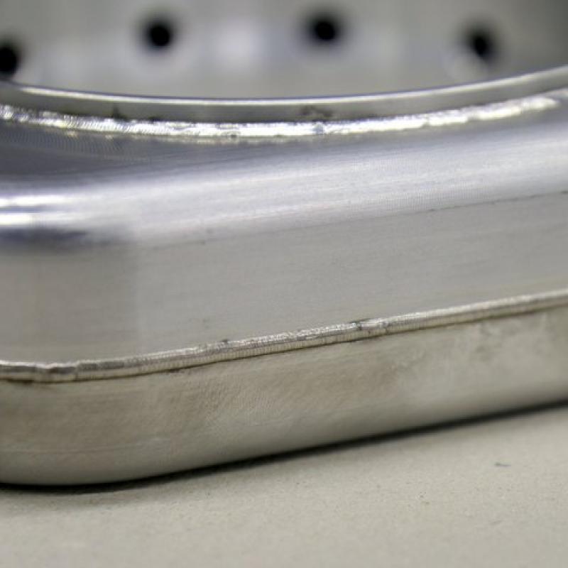 Laserschweissen Aluminium Luftfedertopf