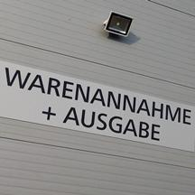 Logistik Warenannahme