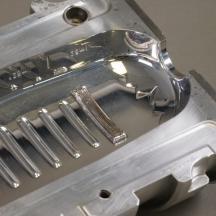 Laser welding aluminium blow mold