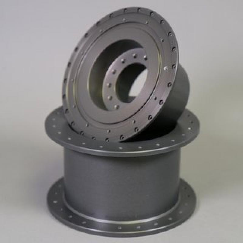 Turning aluminium hard coating